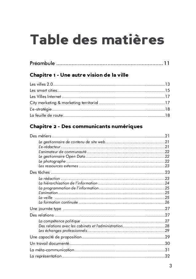 Table des matières Préambule......................................................................11 Chapitre 1 - Une autr...