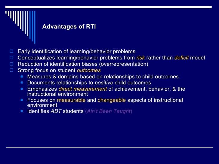 Cognitive Behavioral Intervention Approach