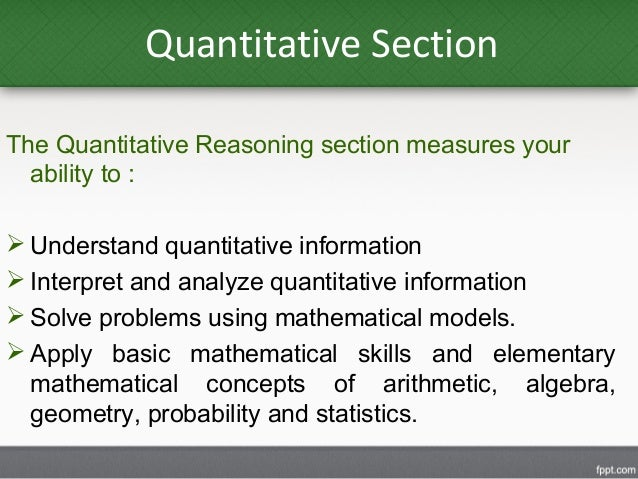 assess your progress in quantitative reasoning and analysis Improving quantitative reasoning through analysis of news stories jeanine meyer catherine dwyer volume 12.