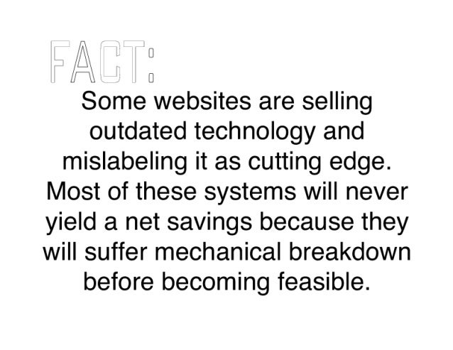 I all 0 I I / Q,  I llTI [I  Some websites are selling outdated technology and mislabeling it as cutting edge.  Most of th...