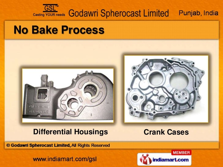 Grey And Sg Iron Castings By Godawri Spherocast Limited