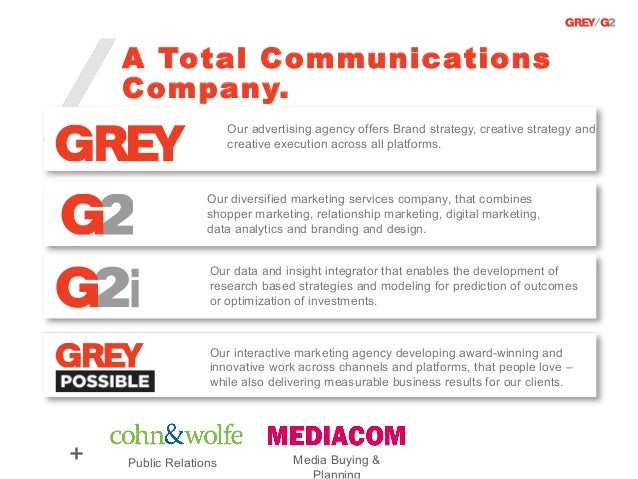 A Total Communications    Company.                       Our advertising agency offers Brand strategy, creative strategy a...