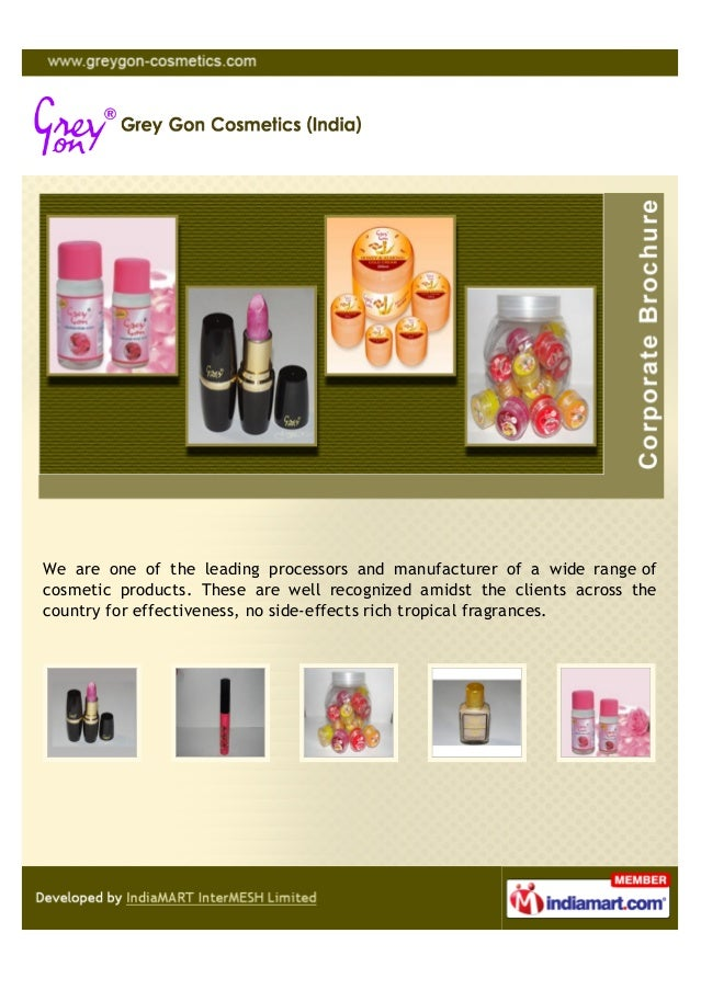 We are one of the leading processors and manufacturer of a wide range ofcosmetic products. These are well recognized amids...
