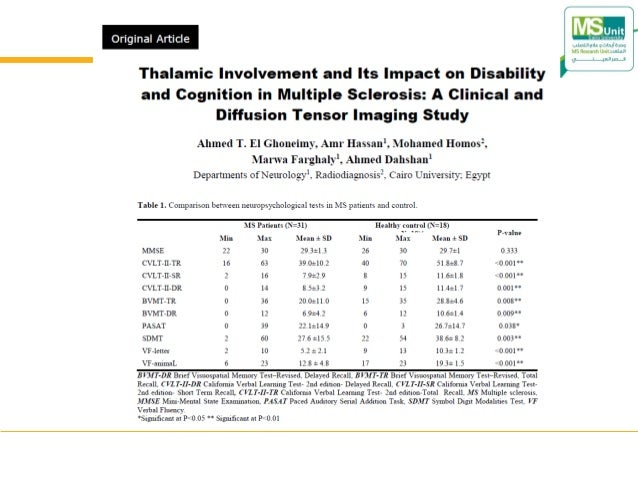 Grey matter and multiple sclerosis