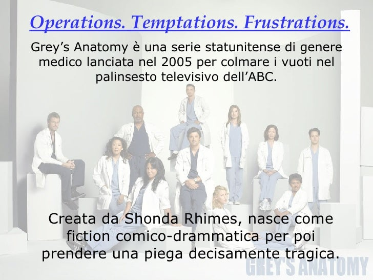 sociological analysis of grey s anatomy Project for our sociology of gender class :-) skip navigation  stereotypes defied by grey's anatomy jme2398  grey's anatomy 14x10 eric-jackson & police storyline #1 they thought i was .