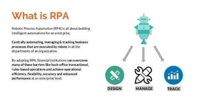 Robotic Process Automation Rpa Guide For Financial