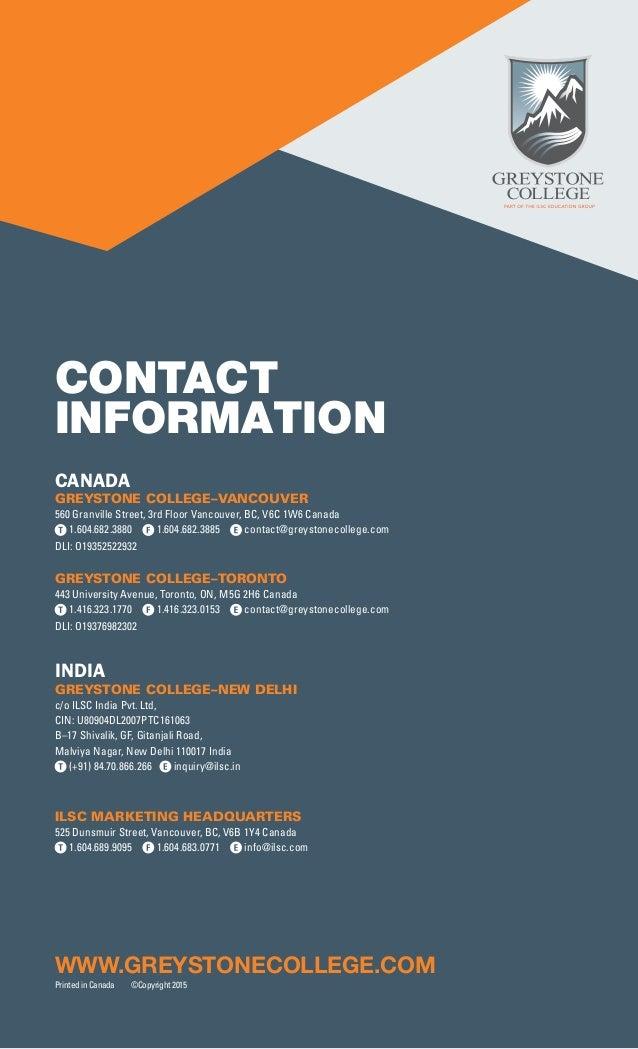 ilsc business greystone college brochure