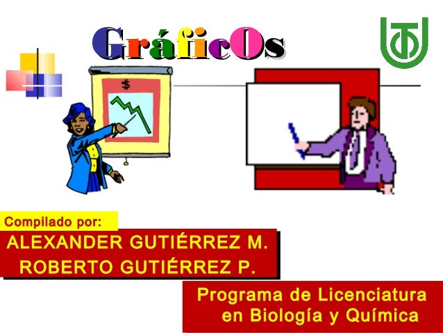 GGrrááffiiccOOss ALEXANDER GUTIÉRREZ M. ROBERTO GUTIÉRREZ P. ALEXANDER GUTIÉRREZ M. ROBERTO GUTIÉRREZ P. Programa de Licen...