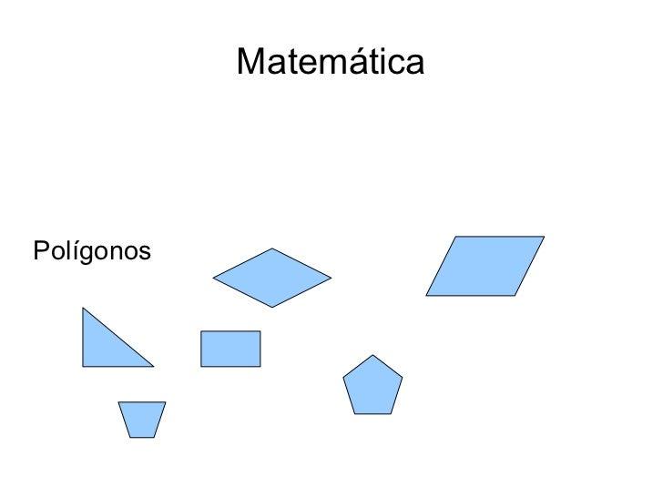 MatemáticaPolígonos