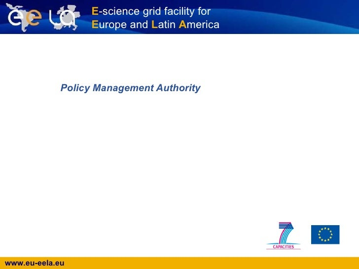 Policy Management Authority