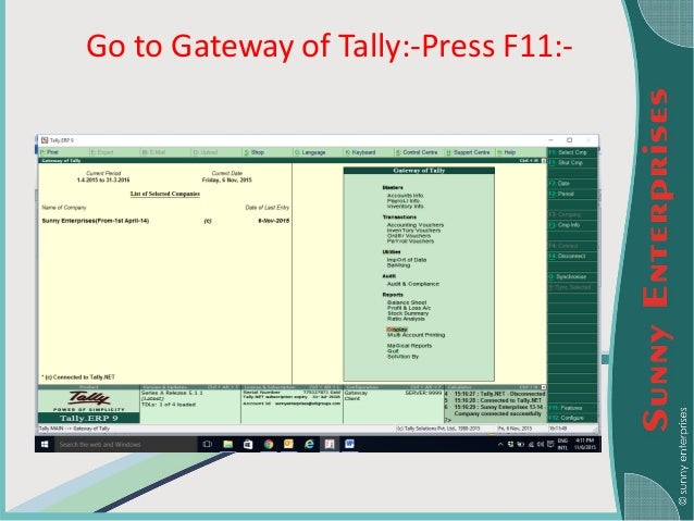 a report on tally 9 0 Auto forex adjustments kuala  features-accounting features-enable auto forex adjustments-yes for tallyerp9 series a release  the ledger vouchers report.