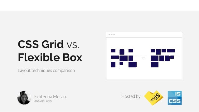 CSS Grid vs. Flexible Box @evalica
