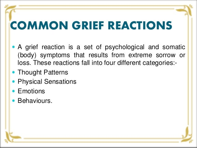 traumatic grief as a reaction to sudden and violent deaths Violent death, such as homicide, accident, and suicide, is sudden, unexpected,   keywords: complicated grief, post-traumatic stress disorder, violent death,   social reaction and stigma, that are associated with the aftermath of violent death, .