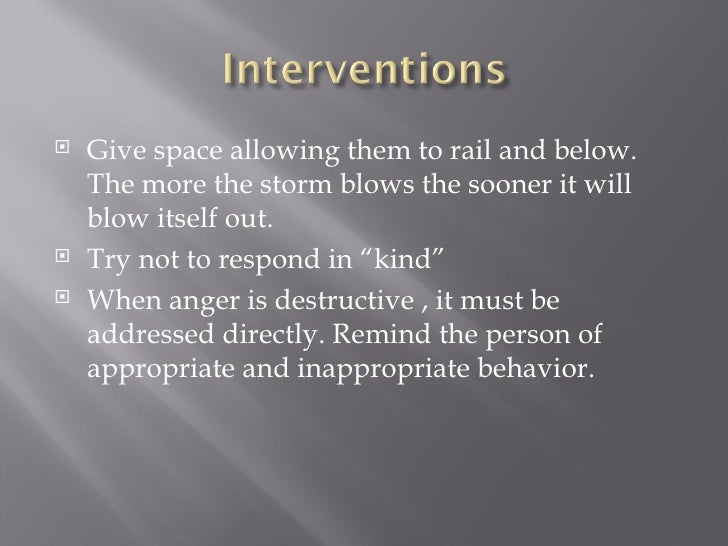<ul><li>Give space allowing them to rail and below. The more the storm blows the sooner it will blow itself out. </li></ul...
