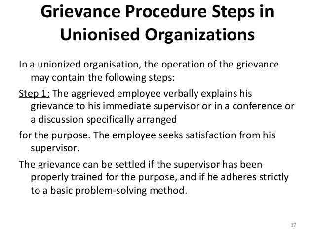 Grievance Handling Procedure: Steps, Need and Elements