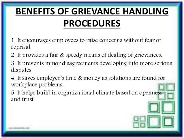 How do you create a grievance form?