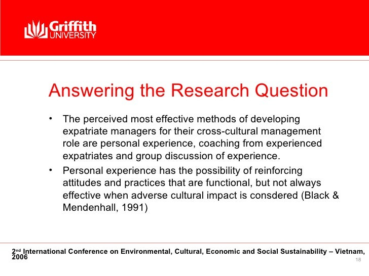 the effectiveness of cultural management practices Management practices in nigerian organizations it specifically examined the  effect of managerial behavior on cross cultural management and impact of  culture.