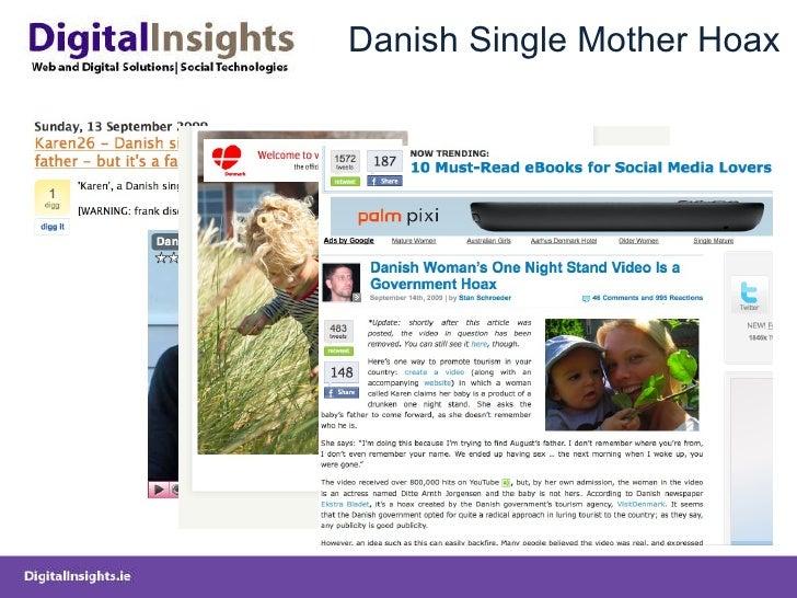 Danish Single Mother Hoax