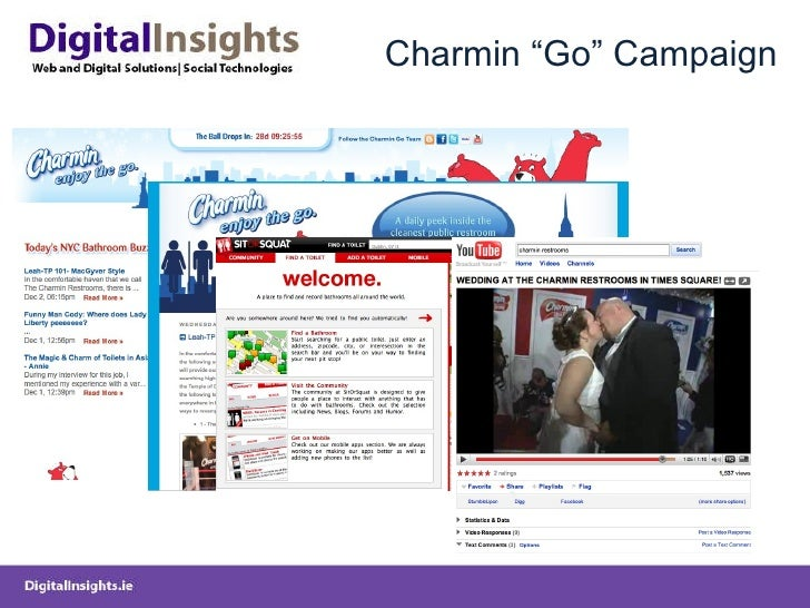 """Charmin """"Go"""" Campaign"""