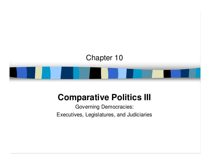 Chapter 10Comparative Politics III       Governing Democracies:Executives, Legislatures, and Judiciaries