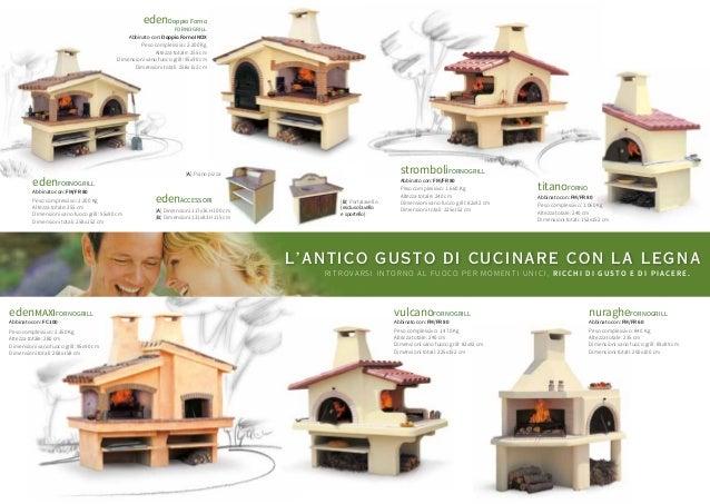 Forni in muratura e grill da giardino in muratura edizione 2016 - Forni a legna per esterno in muratura ...