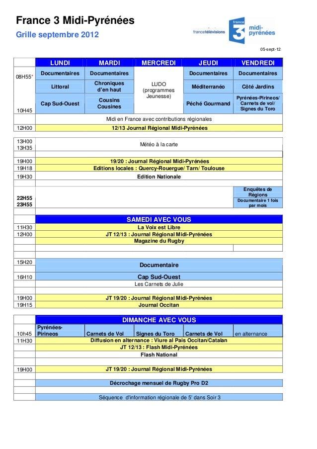 Programme France 3
