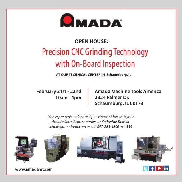 Amada Machine Tools America - CNC Surface and Profile