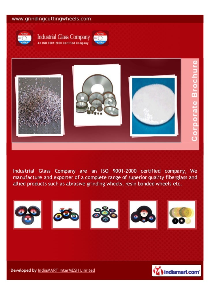 Industrial Glass Company are an ISO 9001-2000 certified company, Wemanufacture and exporter of a complete range of superio...