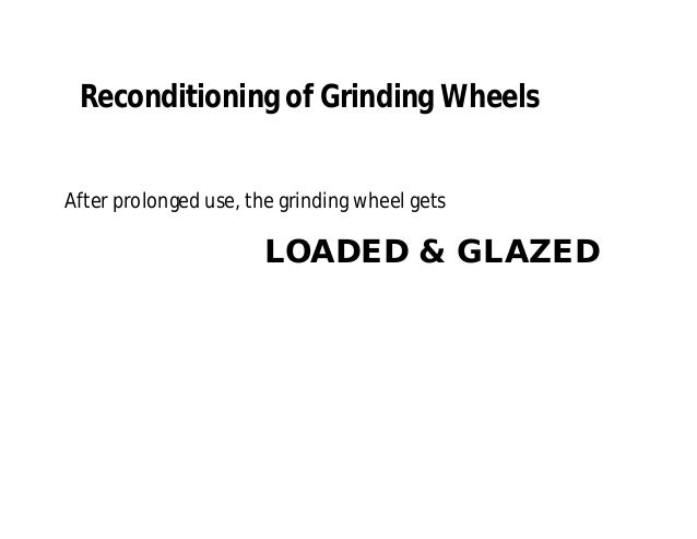 Precision Grinding Wheels