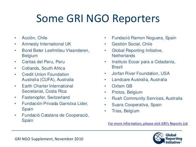 gri global reporting initiative g3 guidelines