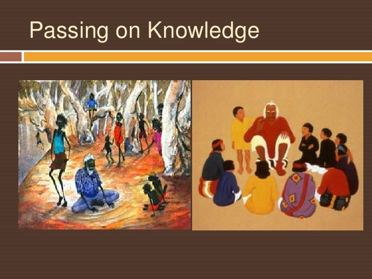 Passing on Knowledge<br />