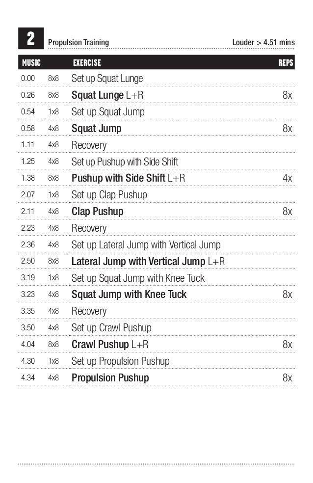 Cardio Workout Sheet