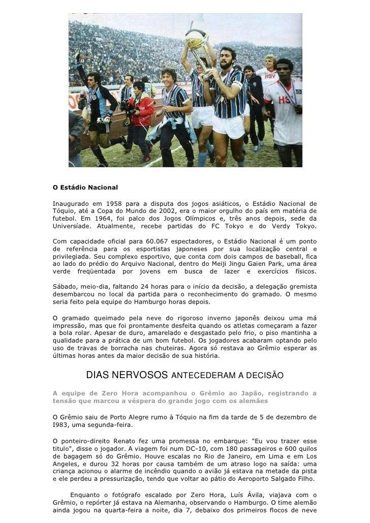 Camisa Grêmio Retrô Libertadores 83 Manga Longa Oficiais