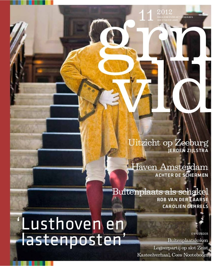 11      2012                           MAGAZINE OVER HET VERBINDEN                           VAN STAD EN LAND             ...