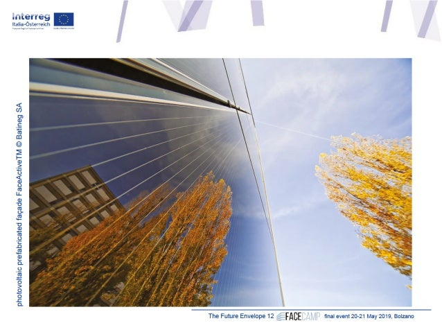 """Michael Grobbauer, Fachhochschule Salzburg (AT) """"Hot building skins"""" Slide 2"""