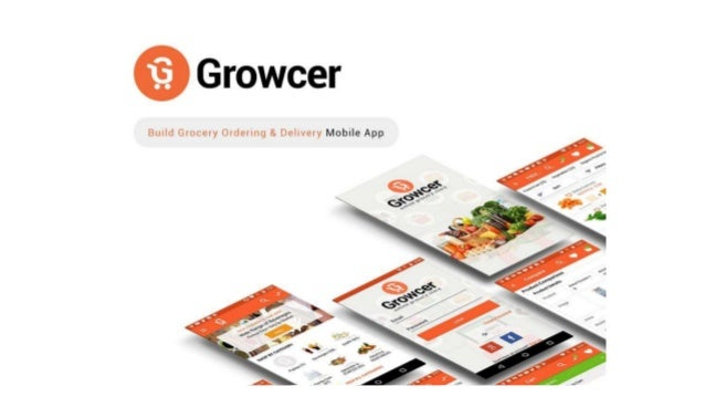 Grocery ordering & Delivery Mobile app