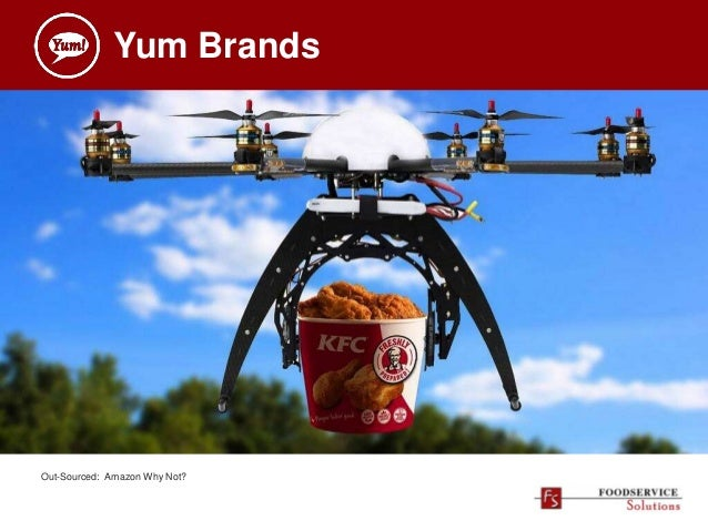Yum Brands Out-Sourced: Amazon Why Not?
