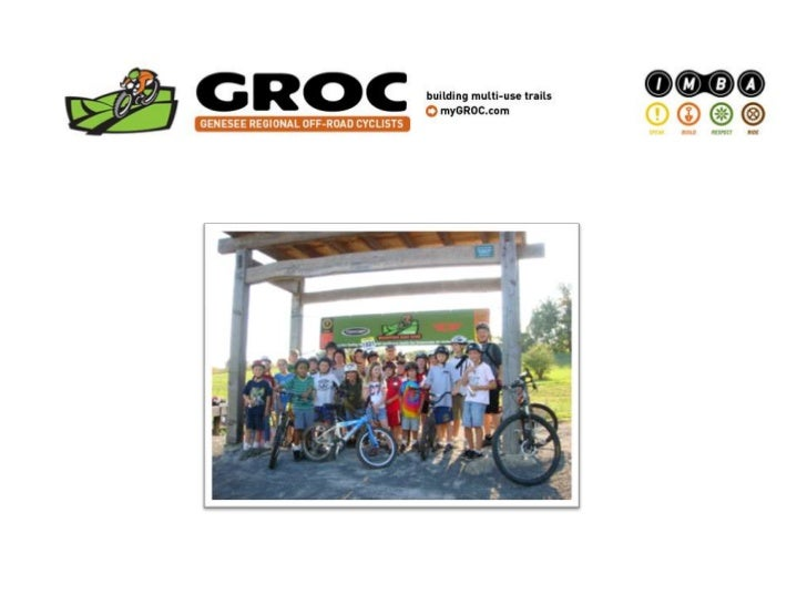 Sustainable Off-Road Cycling and the Benefits for Monroe County      Off-Road Cycling: The Facts    Ellison Area Parks Mas...