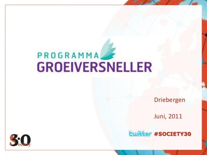 #SOCIETY30<br />Driebergen<br />Juni, 2011<br />