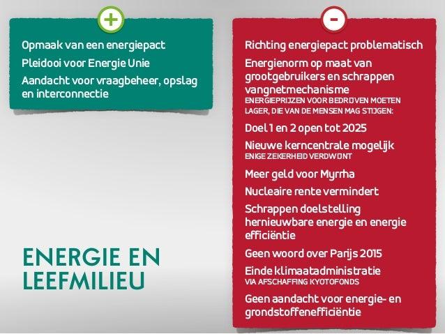 Opmaak van een energiepact  Pleidooi voor Energie Unie  Aandacht voor vraagbeheer, opslag  en interconnectie  Richting ene...