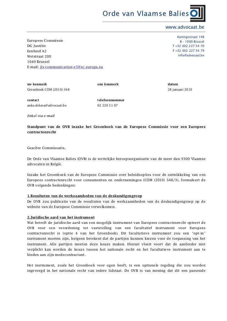 Orde van Vlaamse Balies                                                                            www.advocaat.be        ...