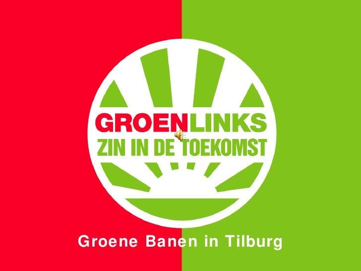 Groene Banen in Tilburg