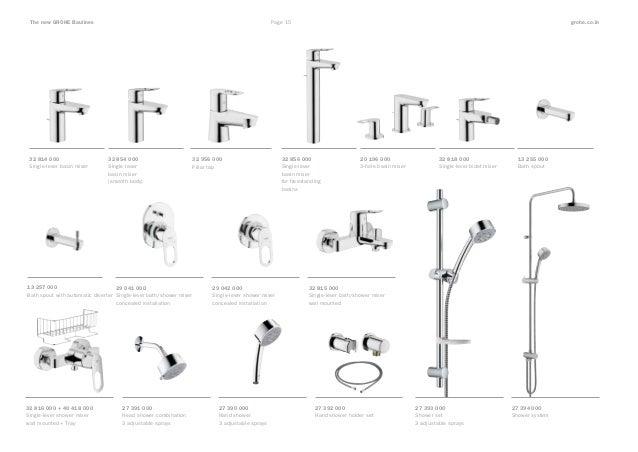 Grohe Bauline Catalogue