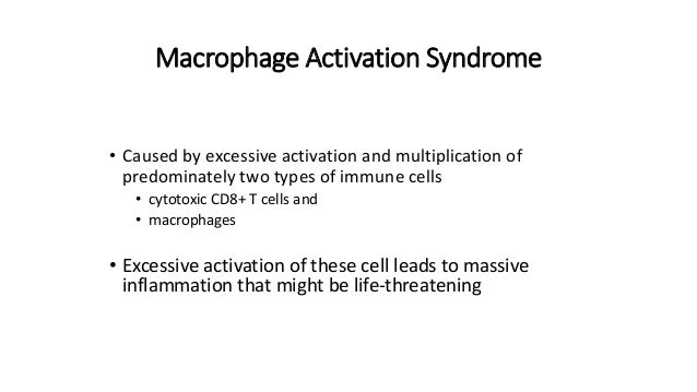 Macrophage Activation Syndrome in SJIA - Alexei Grom Slide 2