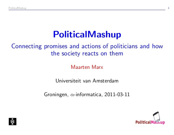 PoliticalMashup                                            1                     PoliticalMashup  Connecting promises and ...