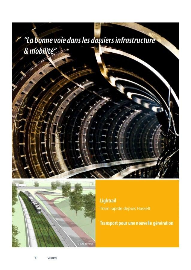 """""""La bonne voie dans les dossiers infrastructure & mobilité""""  Lightrail Tram rapide depuis Hasselt  Transport pour une nouv..."""