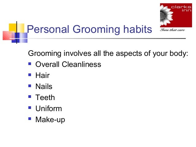 Grooming At Workplace