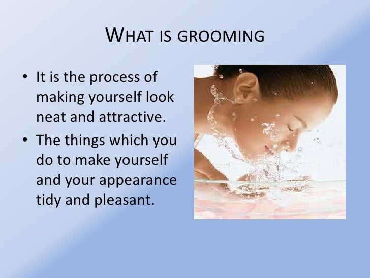 Is grooming What