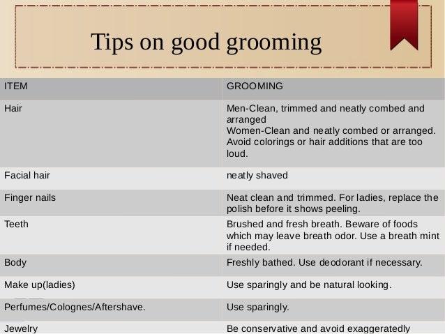 Grooming Good