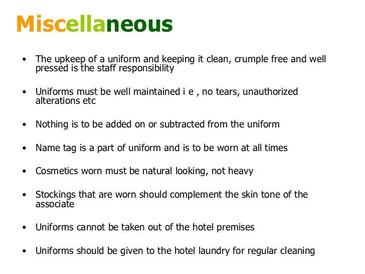 Grooming & personal hygiene